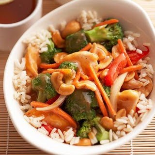 Crock Pot Cashew Chicken (Weight Watchers)
