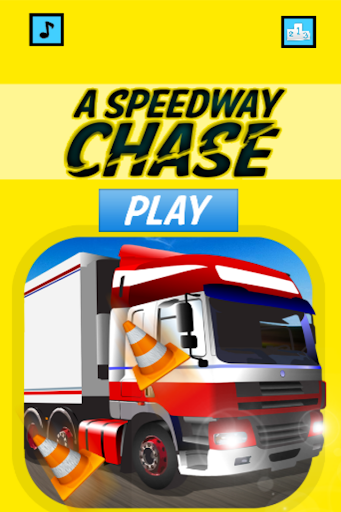 A Speedway Chase - Run of Cars