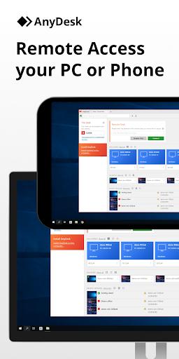 AnyDesk remote PC/Mac control 5.0.2 screenshots 1