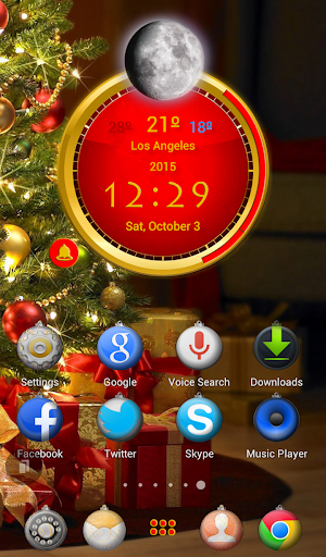 TSF Shell Christmas HD Theme
