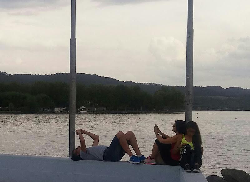 In linea sul lago di Thomasina
