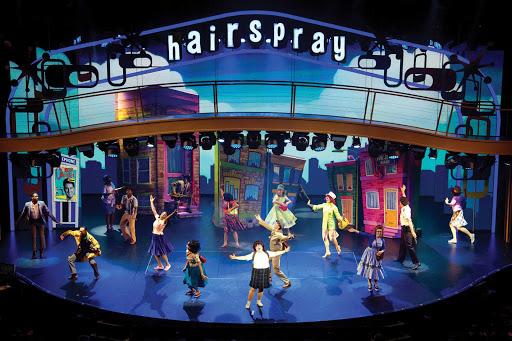 "symphony-of-the-seas-Hairspray.jpg - A scene from the Broadway musical ""Hairspray"" on Symphony of the Seas."
