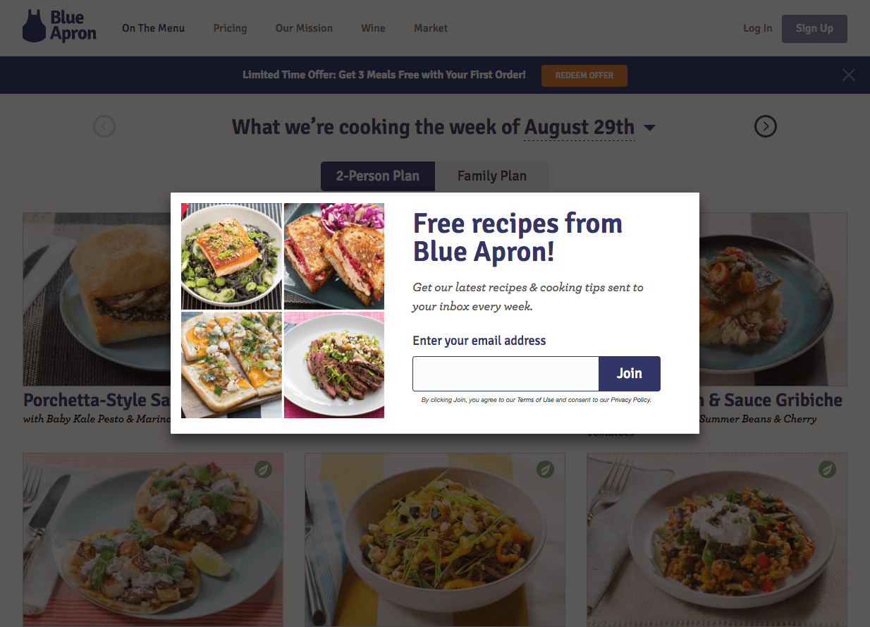 12 - popup ad example