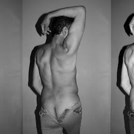 by Ukri Manu - Nudes & Boudoir Artistic Nude ( sexy, erotic, man, nude, body, male )