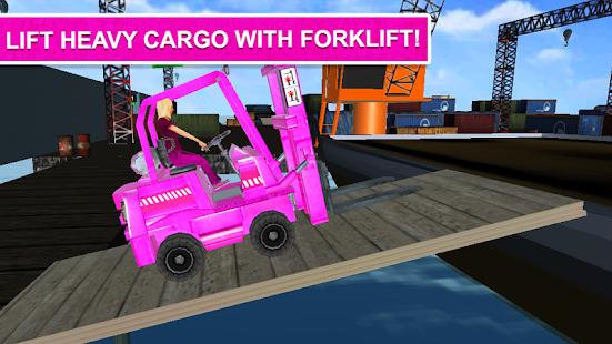 Pink Lady Car Parking fork Lifter - náhled