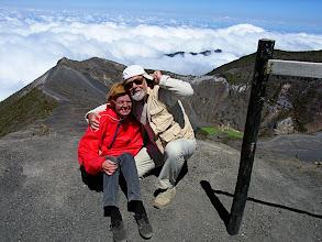 Photo: über dem Irazu-Krater auf 3432 m