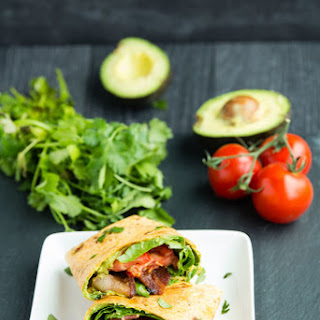 BLT Avocado Wrap.