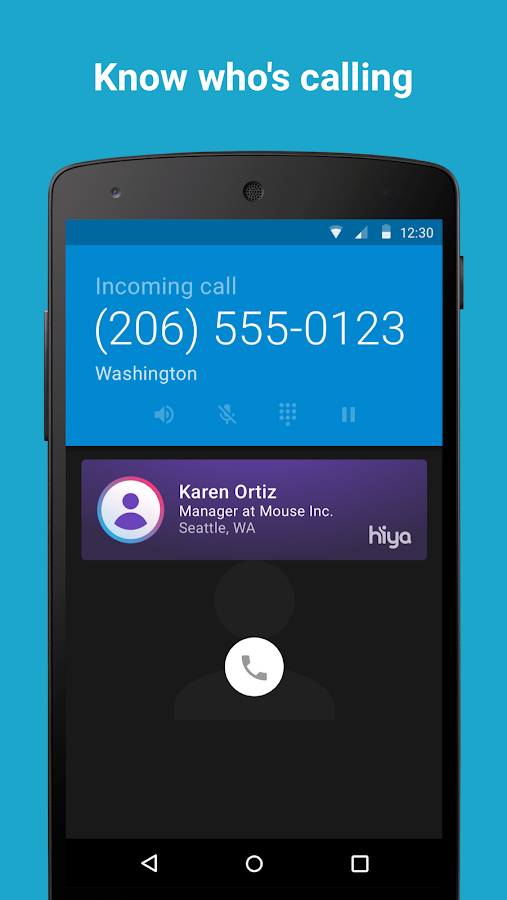Hiya - Caller ID & Block- screenshot