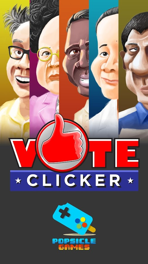 Vote Clicker: Halalan 2016- screenshot
