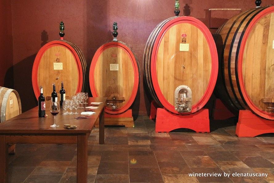 slavonian oak barrels, oak wine, vino, cantina, brunello di montalcino, le potazzine cantina