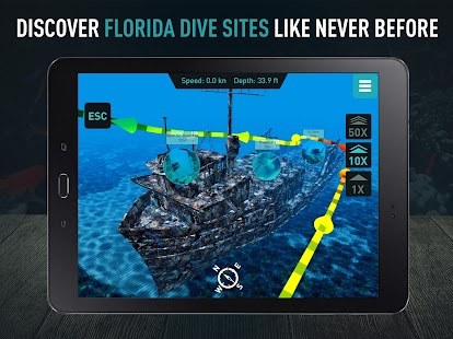 Florida Scuba by Ocean Maps- screenshot thumbnail