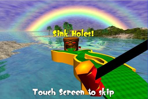 Tiki Golf 3D FREE  screenshot 15