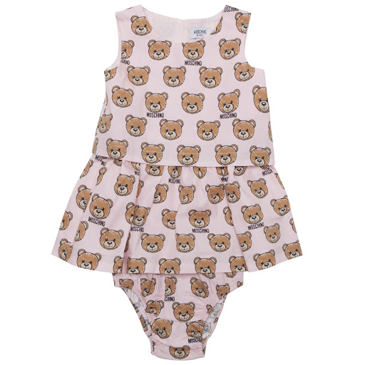 Primary image of Moschino Teddy Dress Set