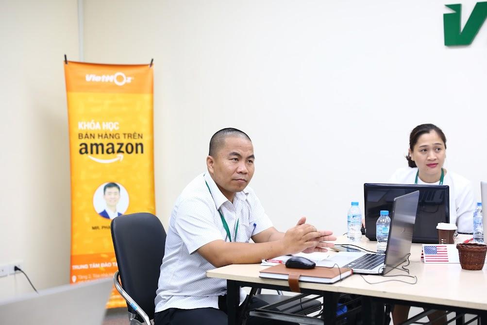 Hình ảnh khoá học bán hàng trên Amazon K13