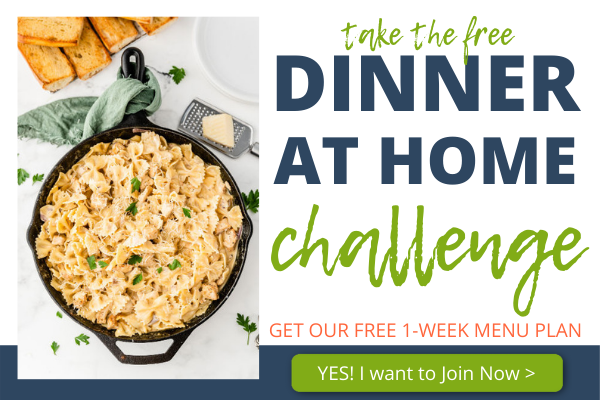 Join the Dinner at Home Challenge Now Click Here