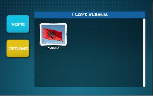 I love Albania Jigsaw Puzzle - náhled