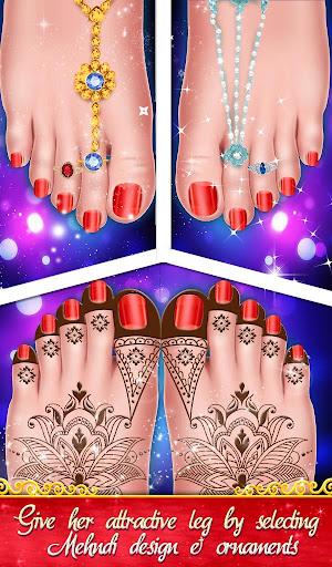 Indian Wedding Saree Designs Fashion Makeup Salon  screenshots 6