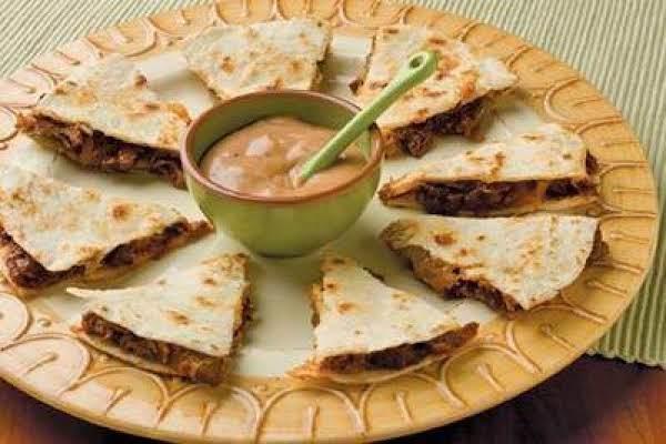 Bbq Ranch Quesadilla Wedges Recipe