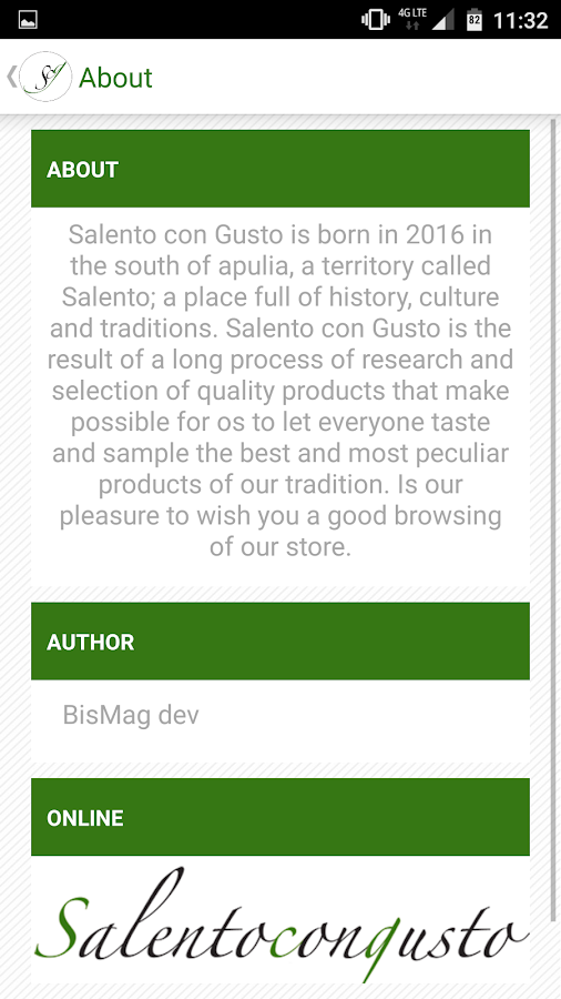 Salento Shop- screenshot