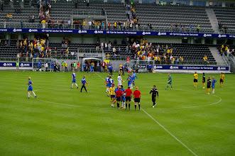 Photo: Das Stadion leerte sich schnell, nach dem Start mit 2:1 gegen Sandefjord verloren hat. Schade.