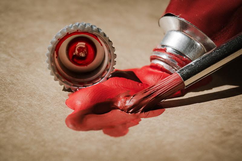 La macchia rossa di Barbara Surimi