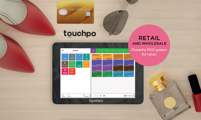 TouchPo Point of Sale Cash POS- screenshot