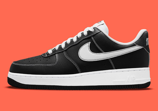 """White Contrast Stitching Animates A Black Nike Air Force 1 For The """"First Use"""" Pack"""