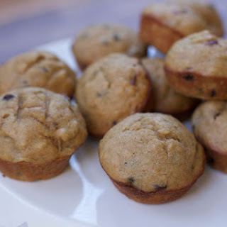 High Protein Peanut Butter Banana Muffins