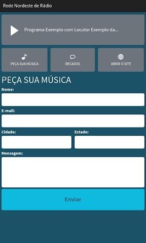 android Rede Nordeste de Rádio Screenshot 1