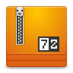 7-zip Portable, a file archiver with a high compression ratio!