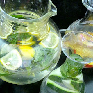 Infused Water, Three Ways.