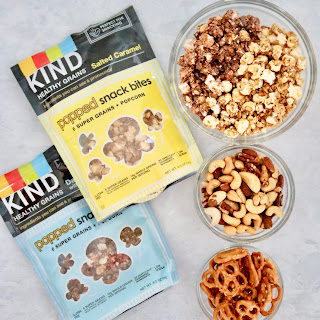 Salted Caramel and Dark Chocolate Ancient Grain Snack Mix.