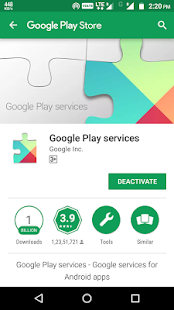 Play Services Instruction - náhled