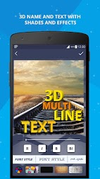3D Name on Pics - 3D Text APK screenshot thumbnail 4