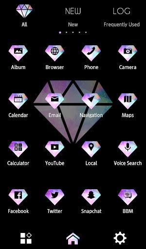 玩免費遊戲APP|下載背景圖片/icon 夢色鑽石 +HOME app不用錢|硬是要APP