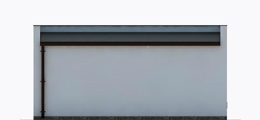 G355 - Budynek garażowo-gospodarczy - Elewacja tylna