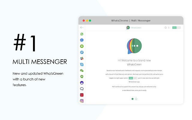 WhatsGreen Multi Messenger