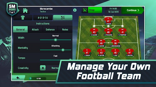 Soccer Manager 2020 – Football Management Game App Download For Android and iPhone 2