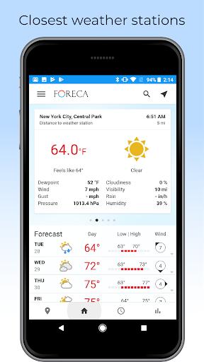Foreca Weather screenshot 7