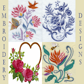 Embroidery Designs Pattern