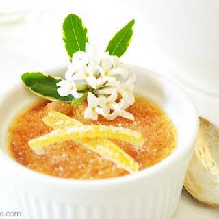 Lemon Creme Brulee.