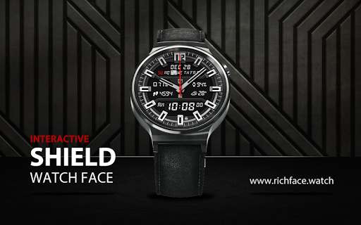 Shield Watch Face