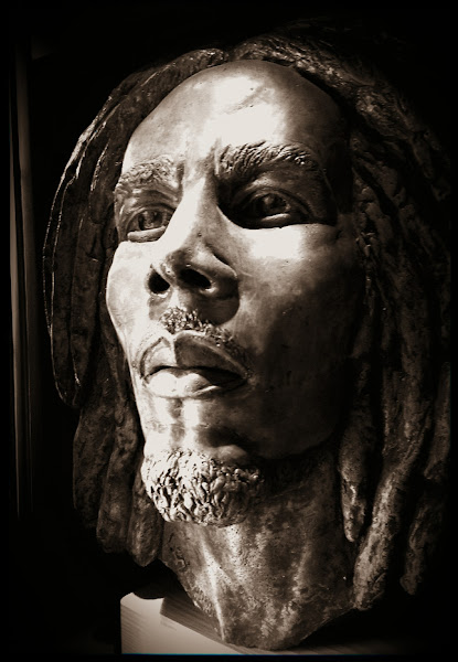 Photo: 1 of 3 Bob Marley Busts made from the original casting for his gravesite.  Found this in a buddies office the other day.  HTC One S