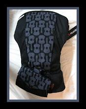"Photo: ""Lennon"" customized Scootababy with Black straps custom Mai Poketto"