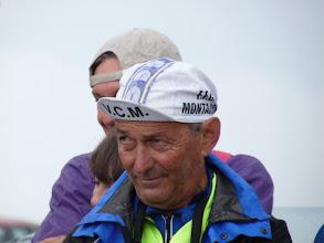 """Photo: Georges GOLSE, avec sa casquette à la """"Robic"""""""