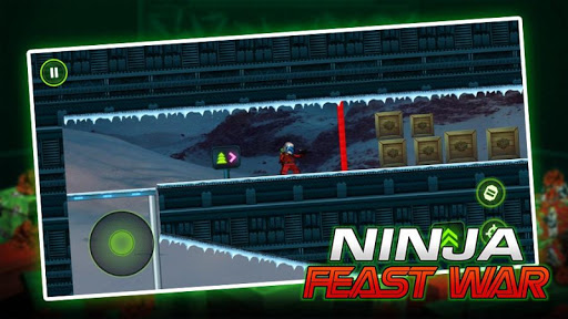 Ninja Toy Shooter - Ninja Go Feast Wars Warrior 1.0 screenshots 1
