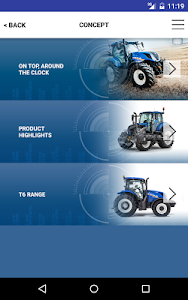 New Holland Ag. T6 range App screenshot 12