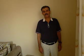 Photo: Aydin Üneşi, Kurdish language teacher and the specialist on Said Nursi in his home in Batman, 2015