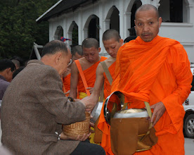 Photo: Day 271 - Monks Receiving Their Gifts #2