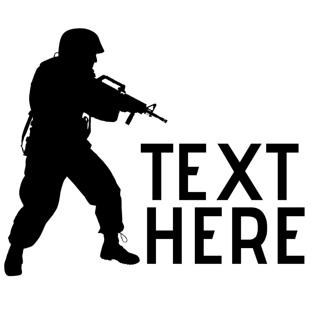 soldier crouching logo